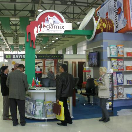 MEGAMIX on the 5th international exhibition of building and furniture of BuildExpo Uzbekistan 2010