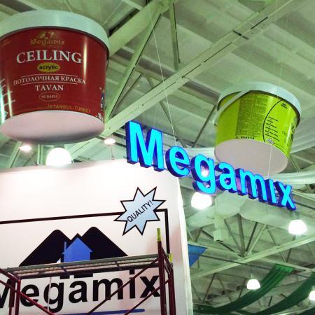 Megamix на выставке UzBuild 2014